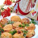 Картофельные стожки с сыром и окороком