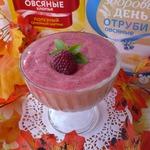 Овсяно-ягодный десерт на завтрак