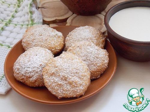 Рубленое овсяное печенье