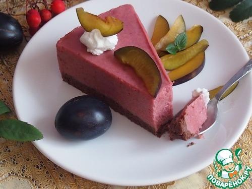 "Сливовый торт ""Осенняя мелодия"""