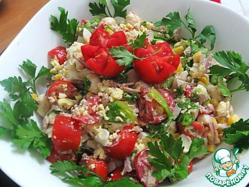 Какой салат сделать к рыбе