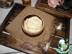 Майонез с печеными яблоками