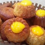 Кексы с лимонным курдом