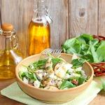 Салат с курицей и сыром Гурман
