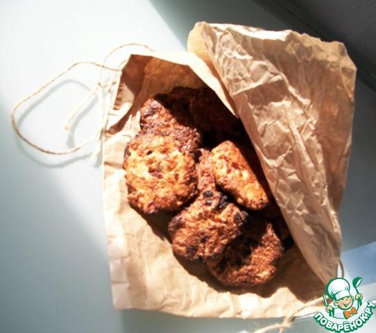 печенье с сливой