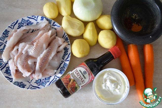 Блюда из минтая  41 рецепт с фото Как приготовить минтай