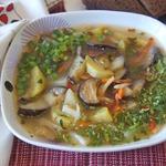 Овощной суп Лето