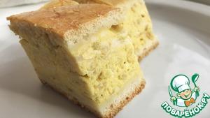 Рецепт: Пирог с плавлеными сырками