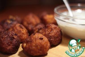 Рецепт: Картофельно-сырные шарики