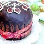 Кекс пасхальный с вишней и шоколадом