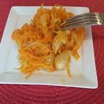 Дальневосточный морковный салат с курицей