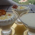 Десерт Лимонный крем