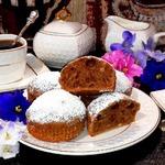 Кексы на сливках Крепкий кофе