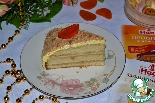 """Торт """"Ромовый рай"""""""