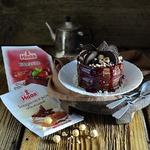 Черемуховый мини-торт Рустик