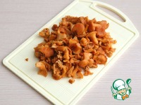 Пирог с курицей и лисичками ингредиенты