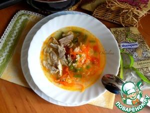 рецепт супа из стручковой фасоли и курицы диета 9