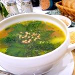 Суп с брокколи и чечевицей