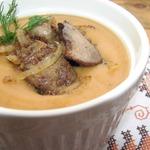 Овощной крем-суп с гречкой