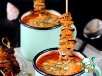 Итальянский суп с рисом и мидиями Чеснок