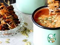 Итальянский суп с рисом и мидиями Томаты протертые
