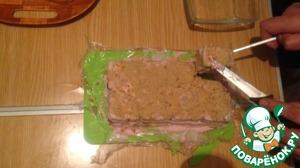 Рецепт: Торт из печенья и творога