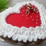 """Блинный торт-суфле """"Сердце"""""""