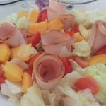 Салат-коктейль из папайи