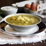 Щавелевый суп с перловкой