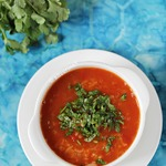 Пряный томатный суп