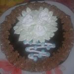 Шоколадный торт с пражским кремом