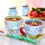 Фасолевый суп-пюре c сельдереем