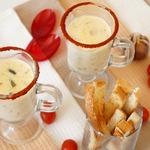 Рисовый суп с сыром