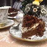 """Кофейно-шоколадный торт """"Чёрный пудель"""""""