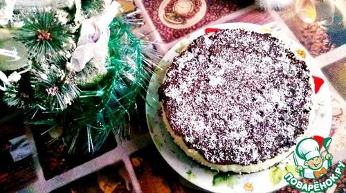 """Шоколадно-кокосовый торт """"Баунти"""""""