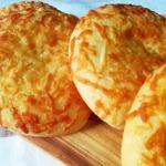 Лепёшки с майонезом и сыром