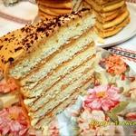 Торт Рыжик по-деревенски