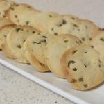 Французское печенье Сабле с солеными оливками