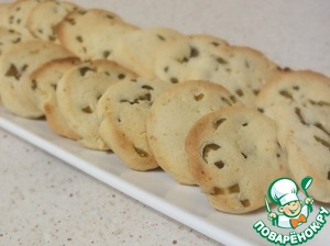 """Рецепт: Французское печенье """"Сабле"""" с солеными оливками"""