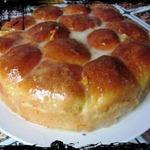 Пирог из апельсиновых булочек