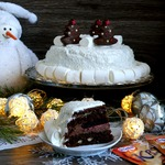 Шоколадный торт «Старый Новый год»