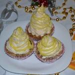 Мини-пирожные «Весёлые пирамидки»