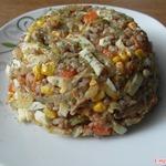 Гречневый салат, гарнир, каша