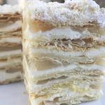 """Торт """"Наполеон"""" с яблочной прослойкой"""