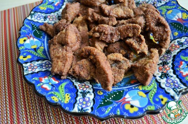 Печень во фритюре рецепт