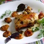 Курица с пряными овощами и специями