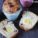Маффины с яйцом и беконом