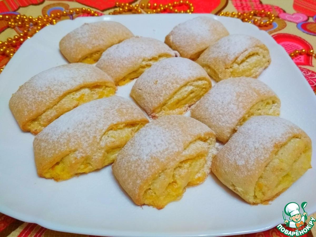 Печенье с начинкой рецепт пошагово
