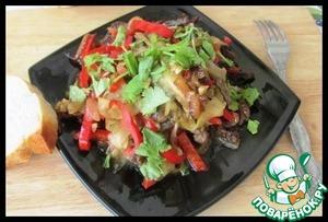 рецепт поваренок салат Мясной на
