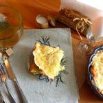Кабачковая запеканка на сметане с сыром